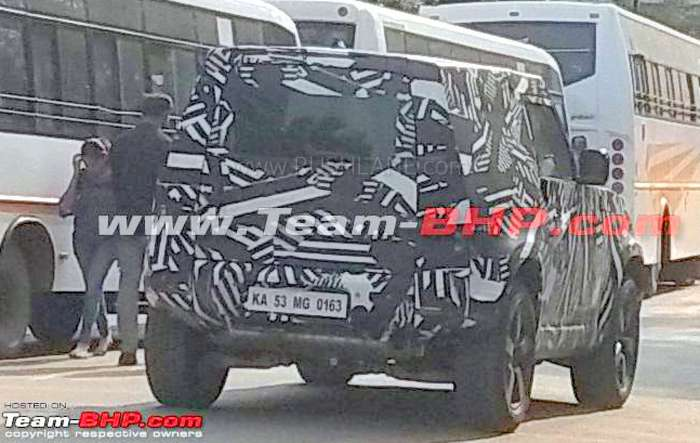 2020 Land Rover Defender spied in India - On test by Tata