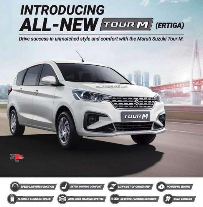 2019 Maruti Ertiga Tour M For Taxi Fleet Launch Price 8 L