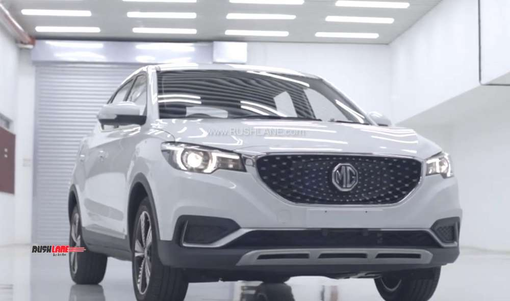 MG eZS production starts