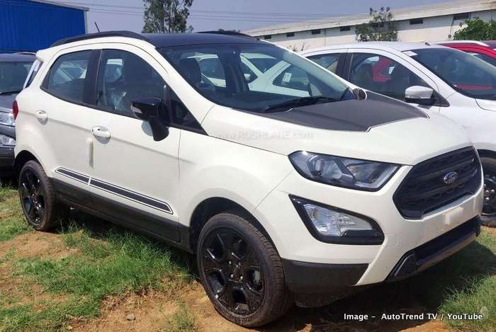 New Ford Ecosport Thunder Edition Interiors Detailed Video