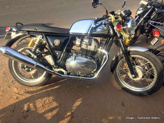 Royal Enfield 650 sales increase