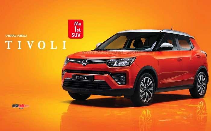 2019 SsangYong Tivoli facelift