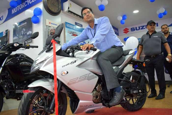 Suzuki Gixxer 250 delivery