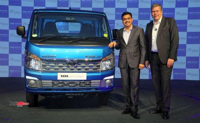 Tata Intra mini truck launch
