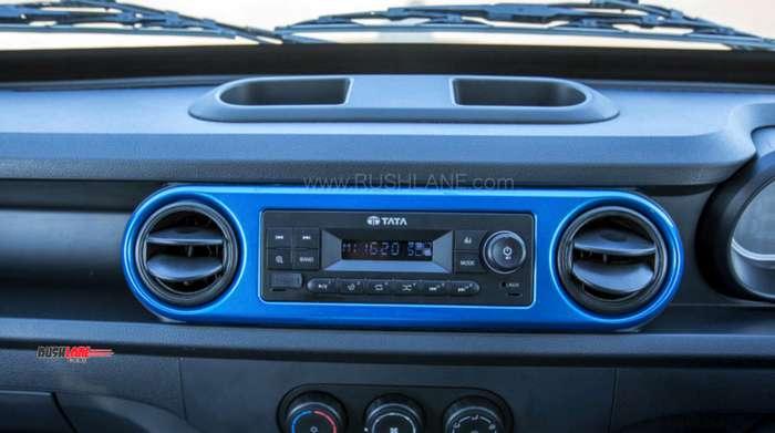 Tata Intra mini truck interiors