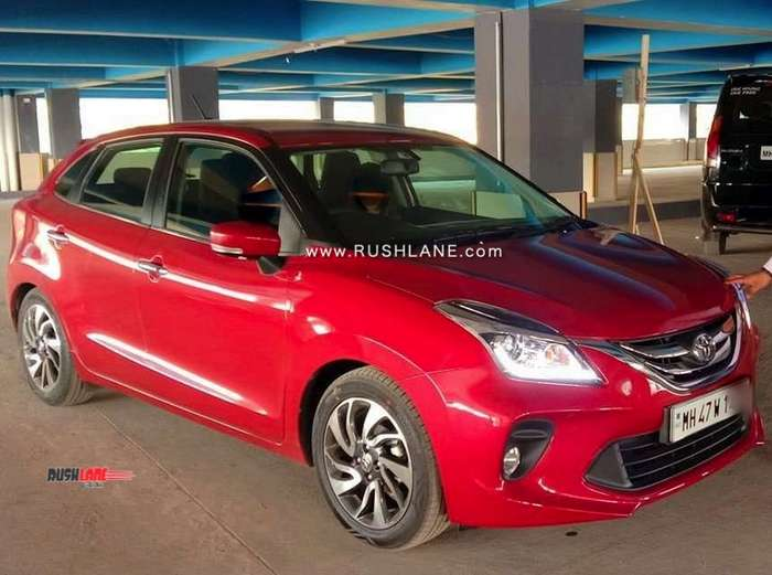 Toyota Extended Warranty >> Toyota Glanza spied during TVC shoot in Goa - Video