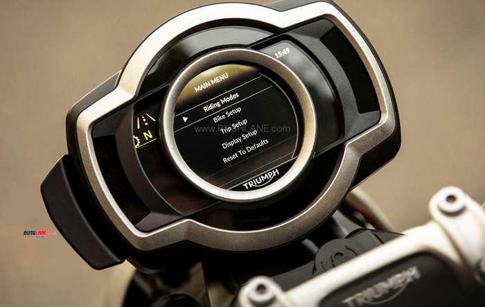 2019 Triumph Scrambler XC 1200