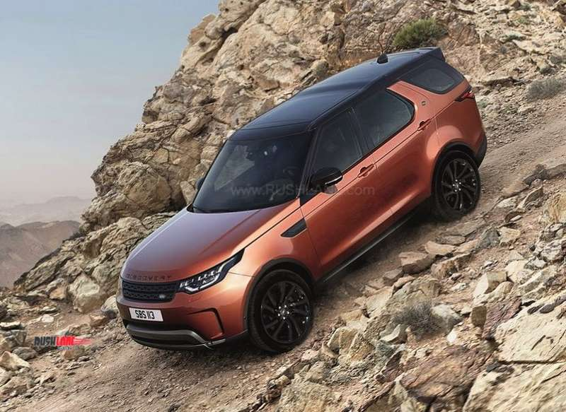 Land Rover Discovery India