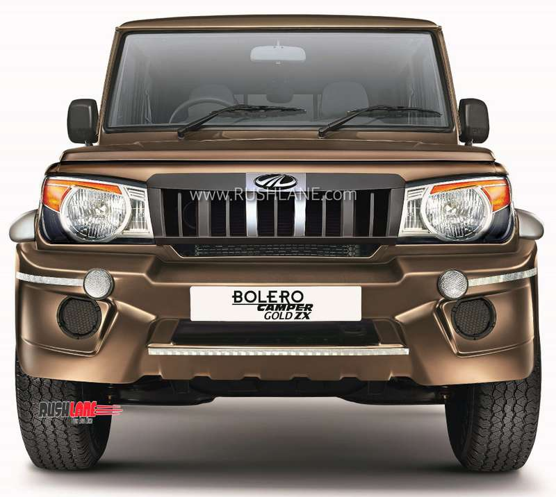Mahindra Bolero Camper Gold Zx Pick Up Premium Variant Launched