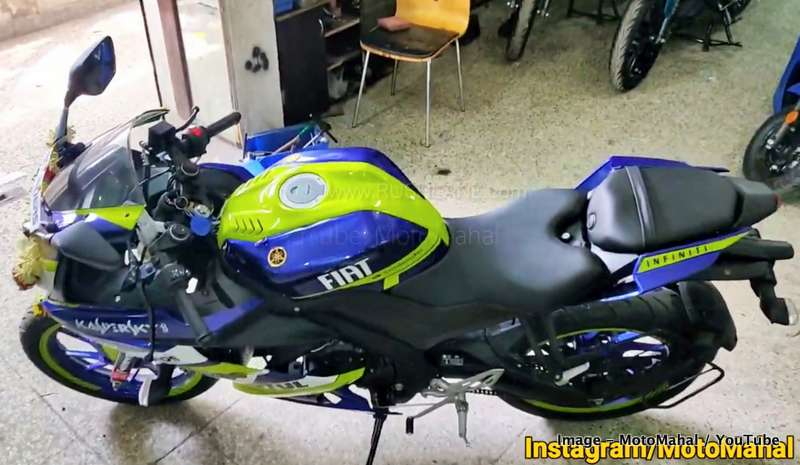 2019 Yamaha R15 V3 MonsterEnergy
