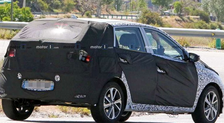 The New 2020 Hyundai i20, is undergoing test.