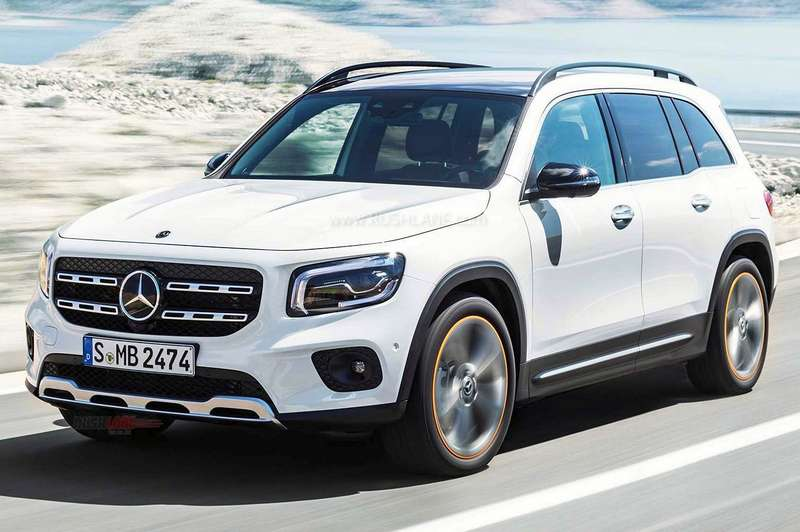 2020 Mercedes-Benz GLB 7-seat compact SUV to go on sale by ...