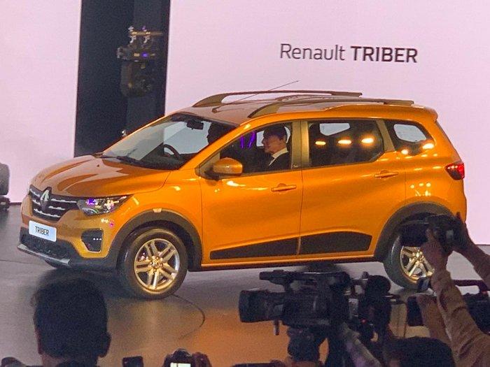 Renault Triber 7 Seater Compact Mpv Global Debut 45 Photos