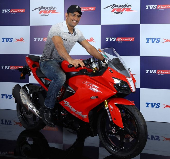 TVS Apache RR 310 domestic sales down to 175 units in May 2019