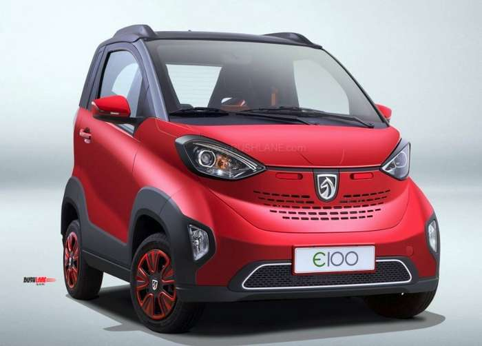 Baojun electric car