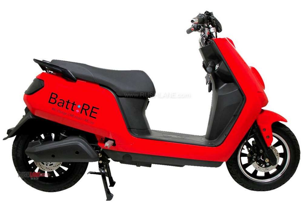 Batt RE electric scooter Batt Mobile