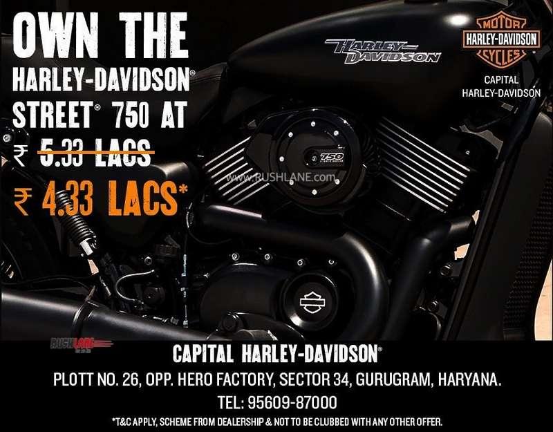 Harley Davidson discount