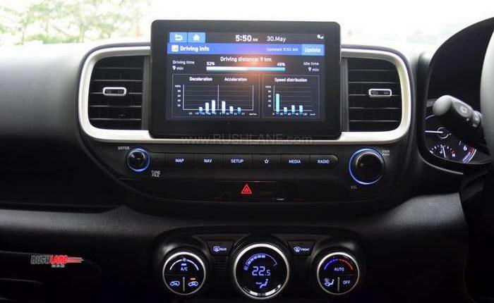 Hyundai Venue touchscreen