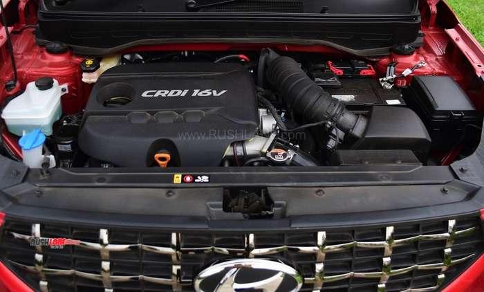 Hyundai Venue diesel engine
