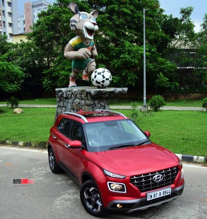 Hyundai Venue shillong