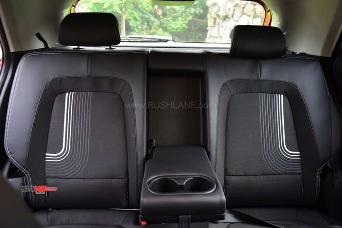 Hyundai Venue rear seats