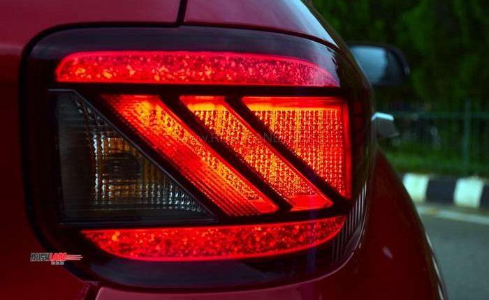 Hyundai Venue tail light