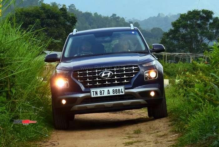 Hyundai Venue offroad