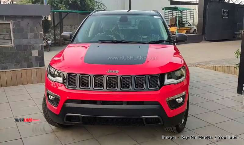Jeep Compass Trailhawk price Rs 10.2 L more than base variant - RushLane