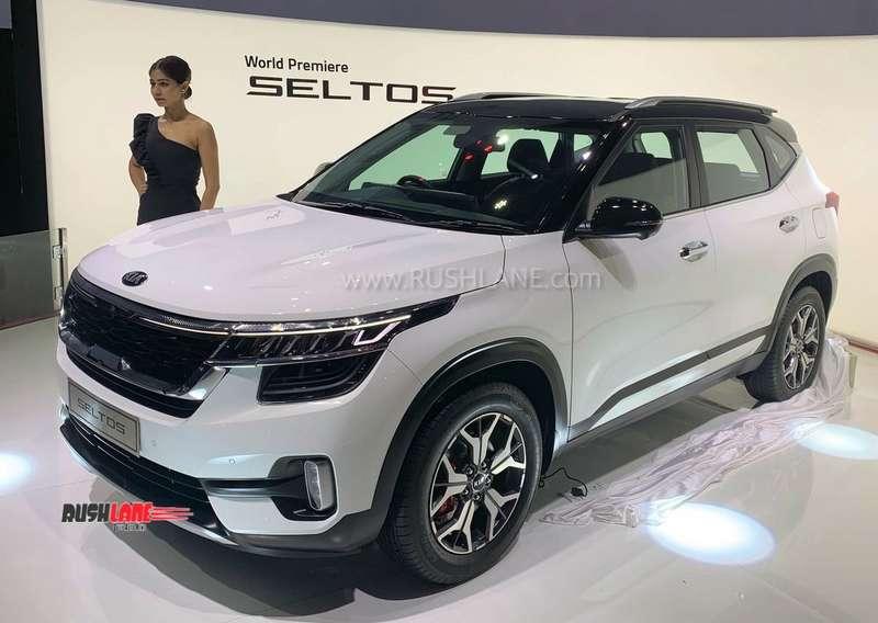 2019 Kia Seltos new SUV for India - Engines, specs, photos