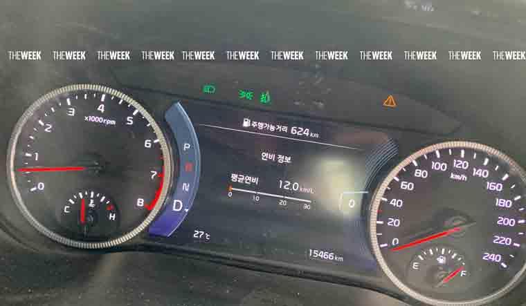 Kia Seltos Touchscreen Instrument Panel Steering Leak