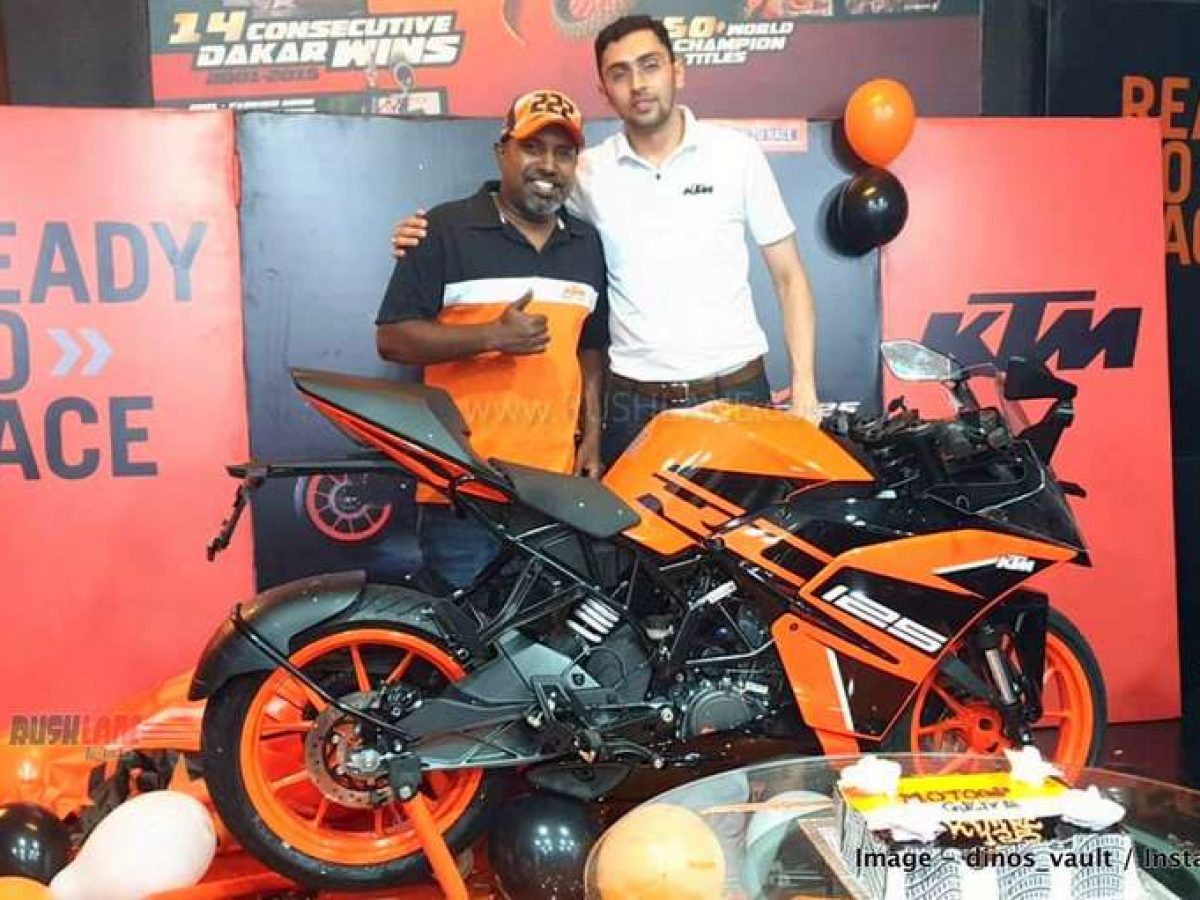 Ktm Rc 125 Deliveries Start In India Gets Good Initial Demand