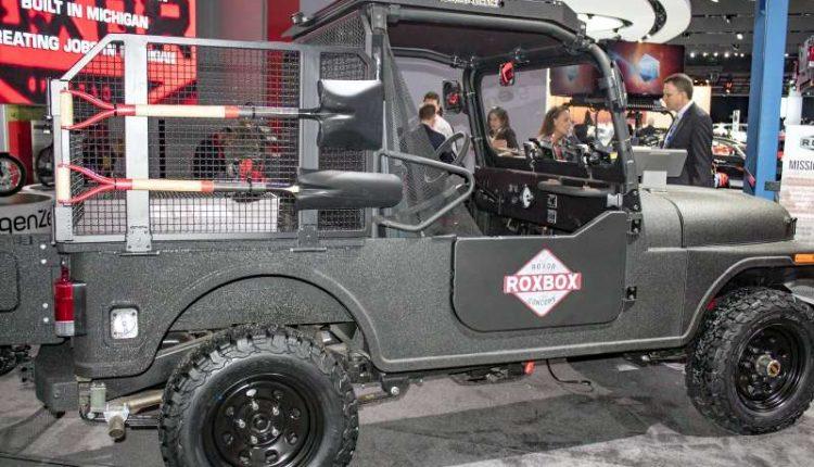Mahindra Roxor Roxbox Concept Suv Debuts With Off Road
