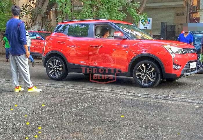 Mahindra XUV300 AMT TVC shoot