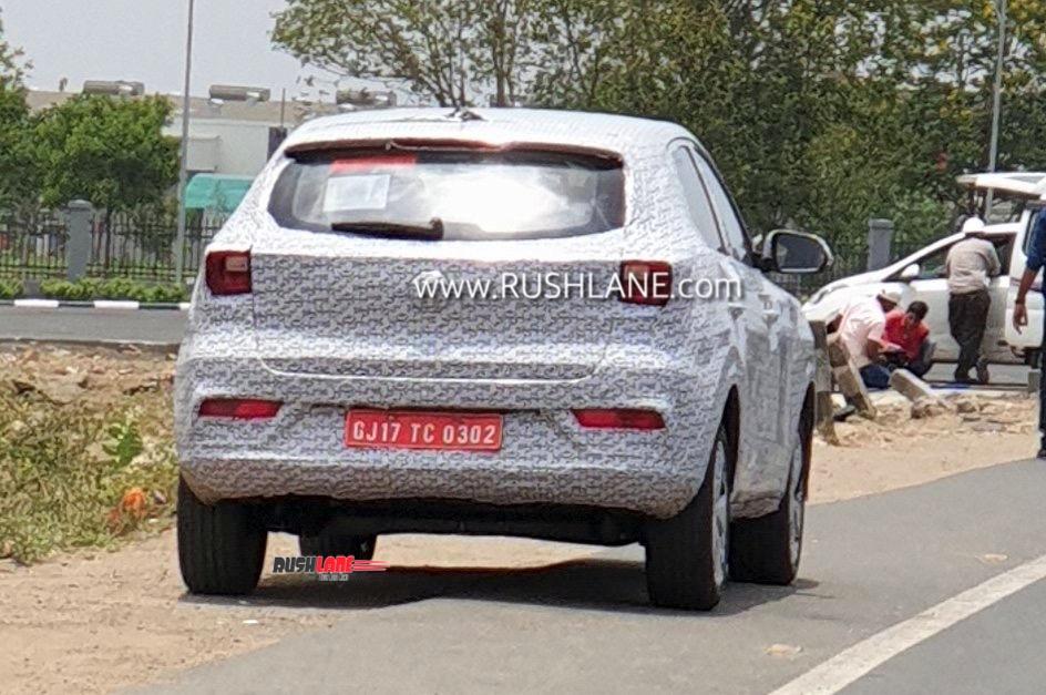 MG eZS electric SUV India