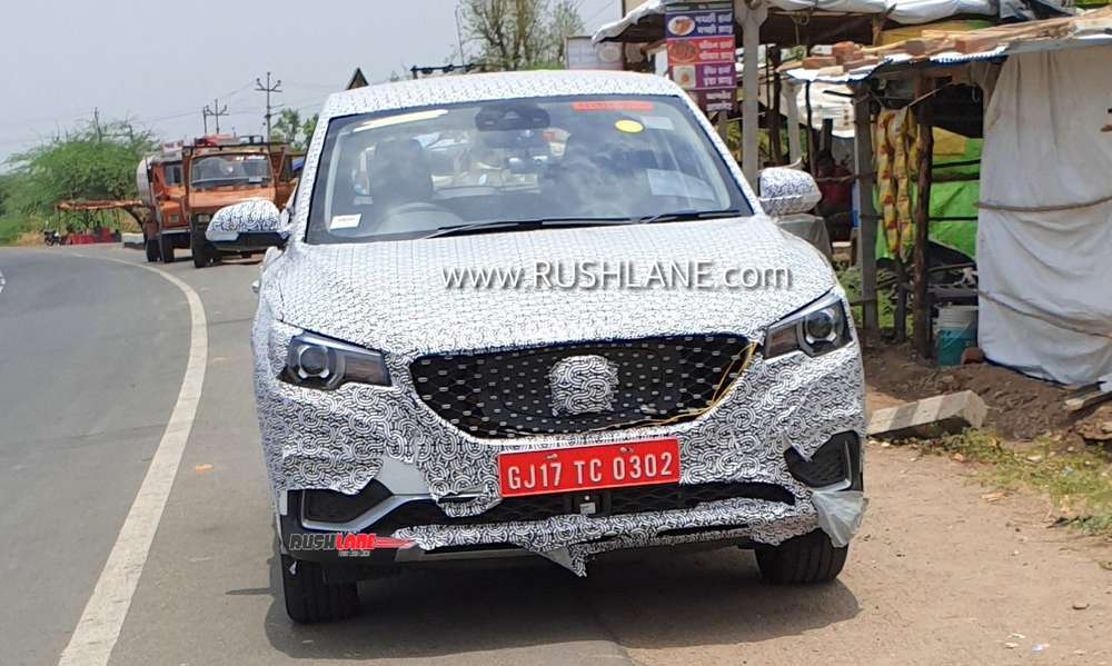 MG eZS electric SUV India