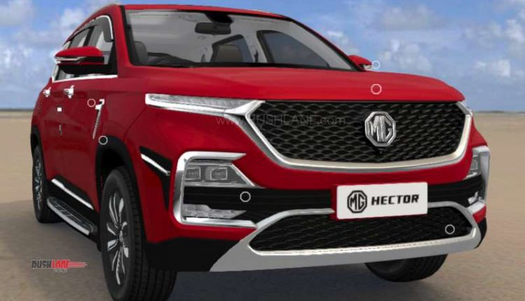 MG Hector accessories