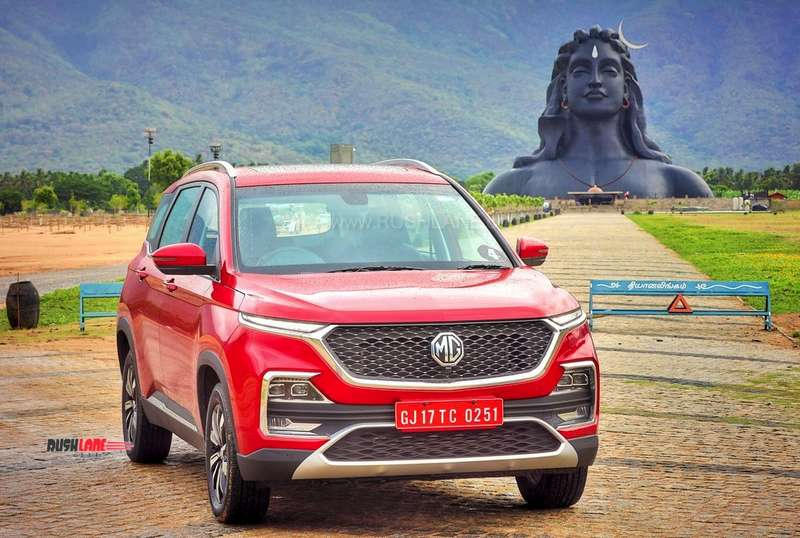 MG Hector list of voice commands that the car can understand