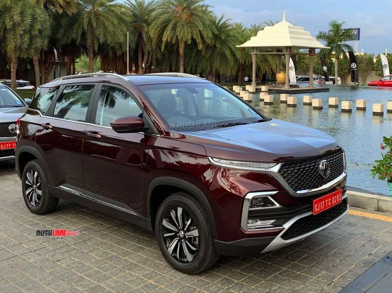 MG Hector weight
