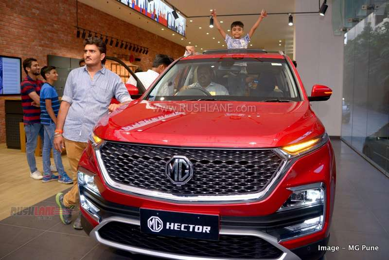 New MG India SUV in huge demand - Waiting period 4 months, bookings 10k