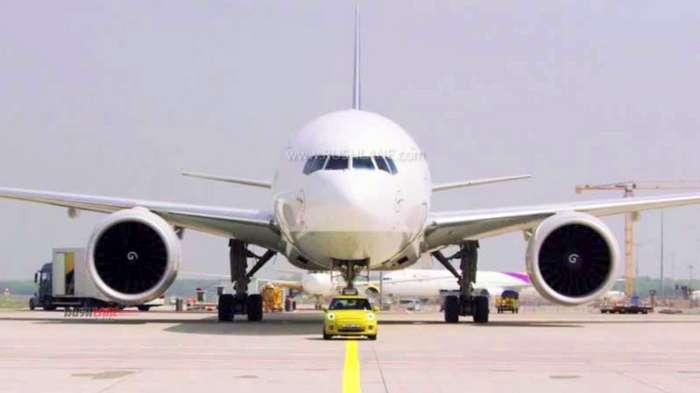 Mini electric pulling plane