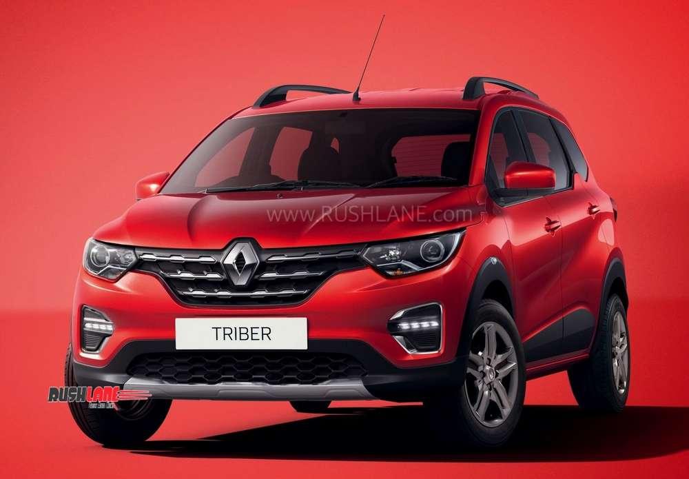 Renault Triber MPV colours, exteriors, interiors - Video