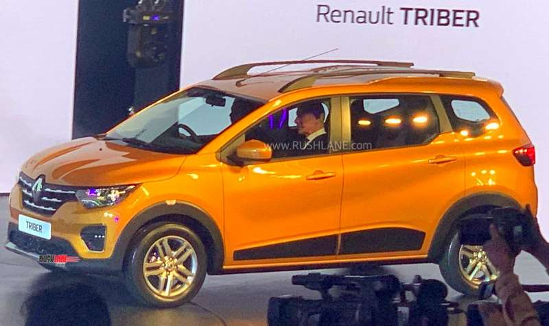 Renault Triber 7 Seater Compact Mpv Global Debut 45 Photos