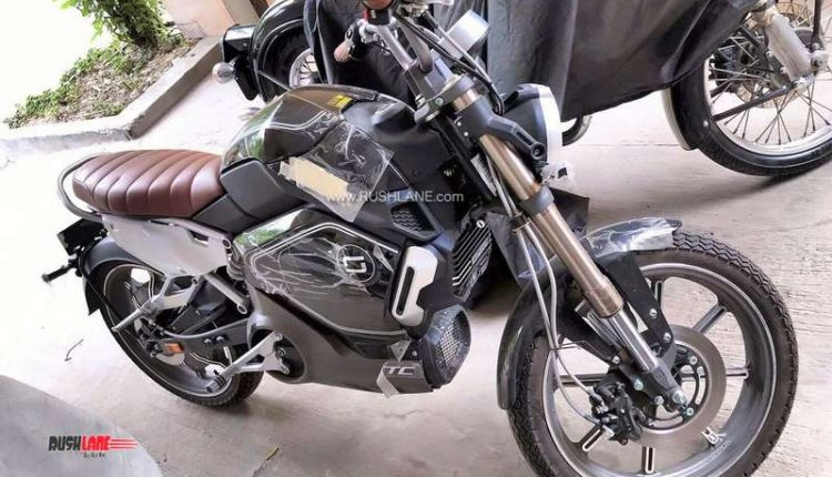 Revolt electric motorcycle Chinese Super Soco import India