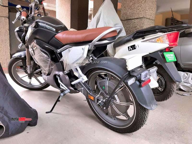Revolt Motorcycle Chinese Look Alike Electric Bike Spied