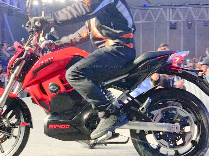 Electric Riding Vehicle >> Revolt RV400 electric bike debuts in India - Price not revealed