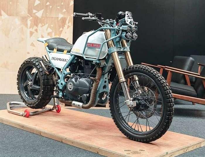 Royal Enfield Himalayan modified