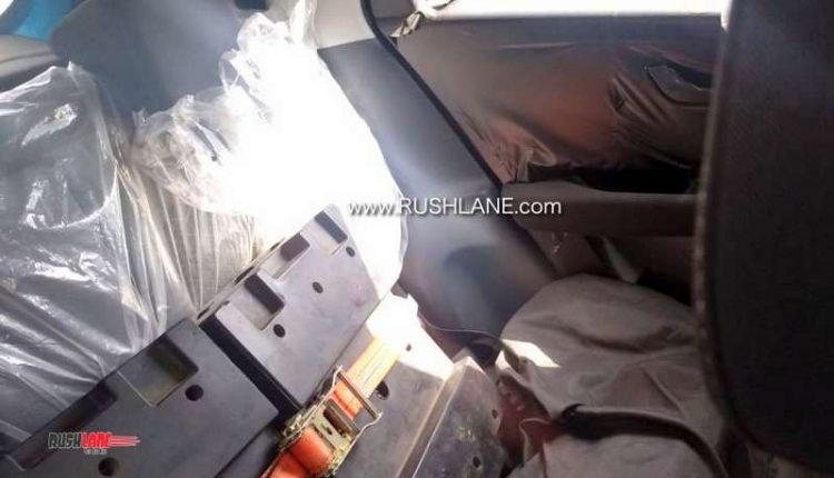 Tata Altroz BS6 petrol spied
