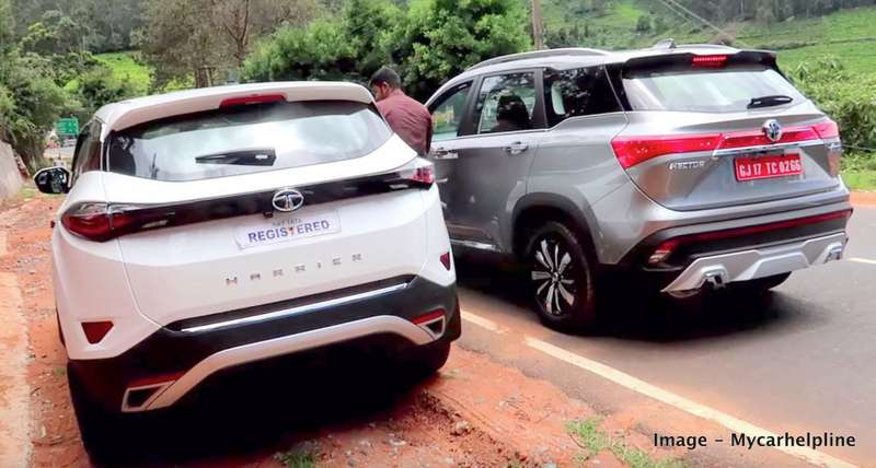 Tata Harrier vs MG Hector