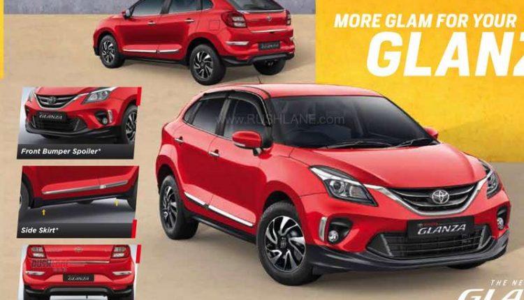 Toyota Glanza accessories