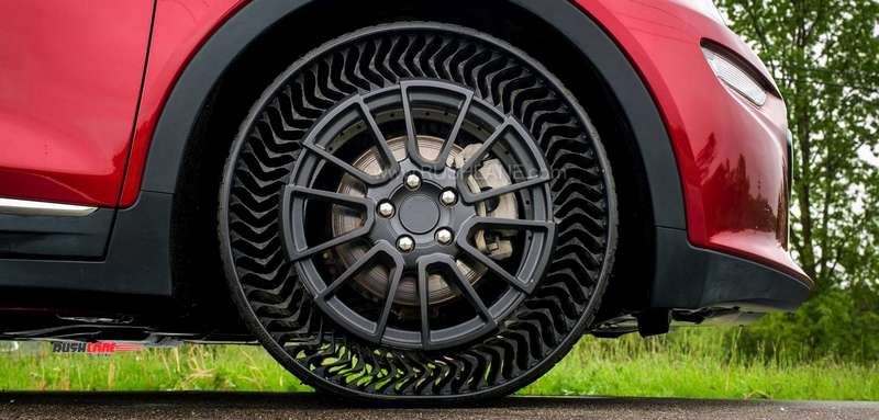 Car tyre future without air